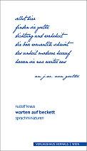 Rudolf Kraus - warten auf beckett