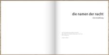 LESEPROBE 'Die Namen der Nacht'