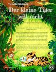 Buchcover - Der kleine Tiger will nicht - Rückseite